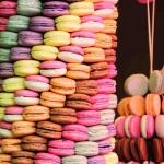 Macarons Süßigkeiten Gebaeck