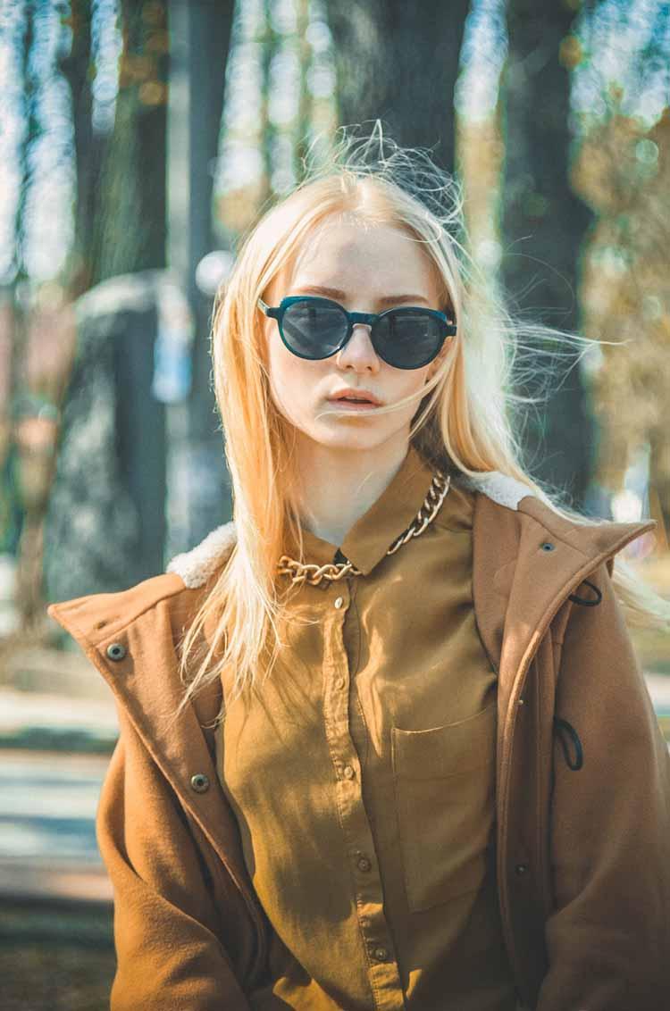 Erdtöne Streetstyle blond