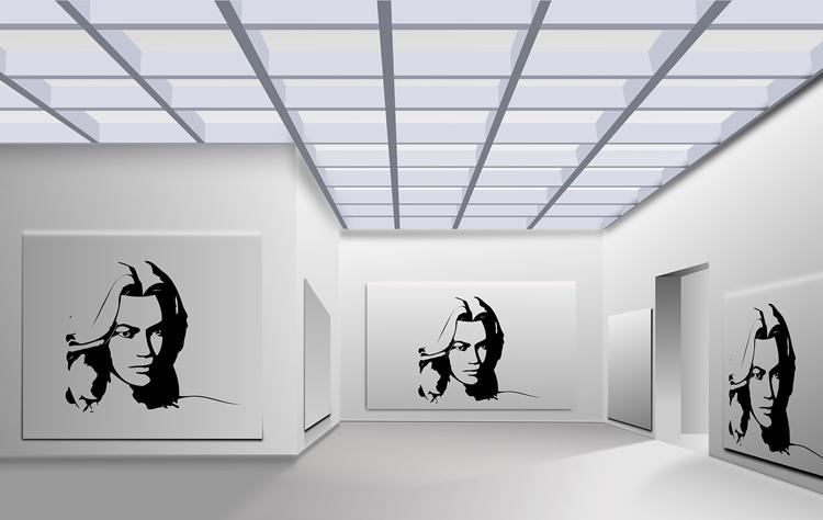 Ausstellung Modelausstellung 90ies