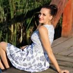 Kleid Blumenkleid Sommerkleid