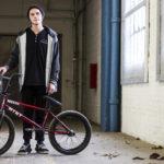 Streetstyle Mann Fahrrad