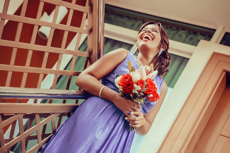 Brautkleid Lila Hochzeitskleid