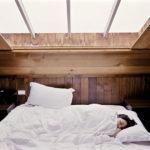 Frau Schlafen Bett