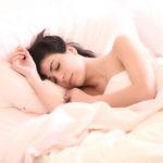 Schlaf Frau Bett