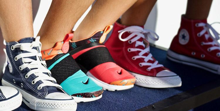 Chucks Nike Sneaker Beine