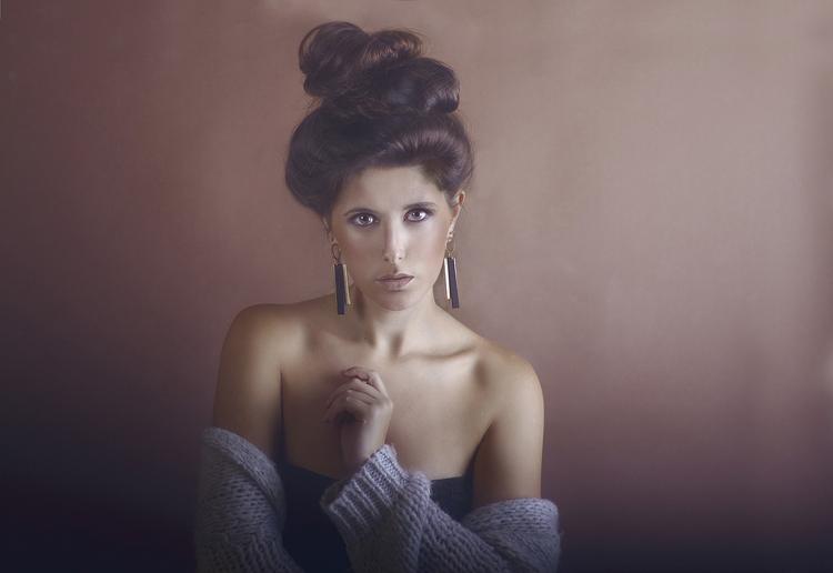 make up frisur pullover